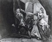 David Garrick and Hannah Pritchard as Macbeth and Lady Macbeth after the Murder of Duncan Henry Fuseli