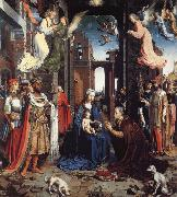 THe Adoration of the Kings Jan Gossaert Mabuse