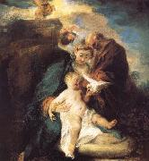 The rest in the flight to Egypt Jean antoine Watteau