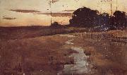 Twilight Landscape John Longstaff