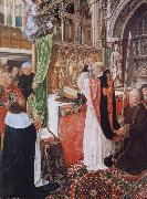 The Mass of Saint Giles MASTER of Saint Gilles