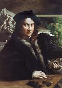 Portrait of A man PARMIGIANINO