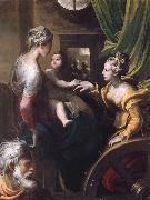 The Mystic Marriage of Saint Catherine PARMIGIANINO
