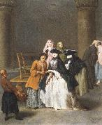 A Fortune Teller at Venice Pietro Longhi