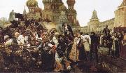 The Morning of the Execution of the Streltsy Vasily Surikov