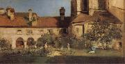 The Cloisters William Merritt Chase