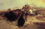 Buffalo Hunt Charles M Russell