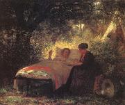 The Letter Home Eastman Johnson