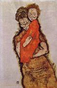 Mother and Child Egon Schiele