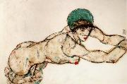 Female Nude to the Right Egon Schiele