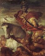 The Rider on the White Horse Georeg frederic watts,O.M.S,R.A.