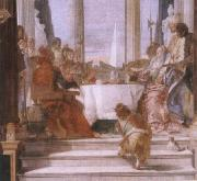 The banquet of the Klleopatra Giambattista Tiepolo