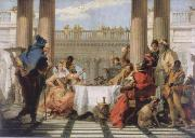 The banquet of the Kleopatra Giambattista Tiepolo
