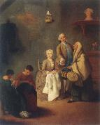 the school of the work Pietro Longhi