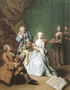 The geography hour Pietro Longhi