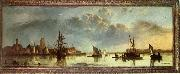 View on the Maas at Dordrecht Aelbert Cuyp