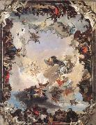 Allegory of the Planets and Continents Giambattista Tiepolo