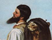 Detail of encounter Gustave Courbet