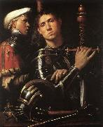 Warrior with Equerry CAVAZZOLA
