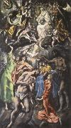 The Baptism of Christ El Greco