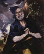 The Tears of St Peter El Greco