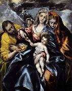 The Holy Family with St Mary Magdalen El Greco