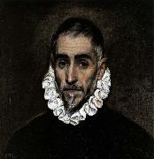 An Elderly Gentleman El Greco