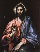 Christ as Saviour El Greco