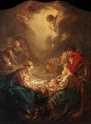 Adoration of the Shepherds Francois Boucher