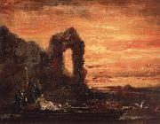 Klopatra on the Nile Gustave Moreau