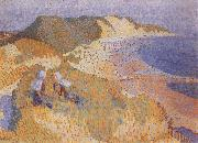 The Dunes and the Sea at Zoutlande Jan Toorop