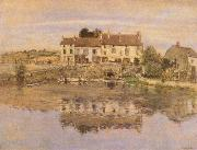 House on the Banks of the Oise Jean-francois raffaelli