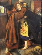 Escape of a Heretic Sir John Everett Millais