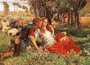 The Hireling Shepherd William Holman Hunt