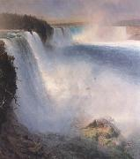 Niagara Falls from the American Side Frederic E.Church