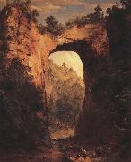 The Natural Bridge,Virginia Frederic E.Church