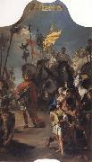 The Triumph of Marius Giambattista Tiepolo