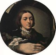 Self-Portrait PARMIGIANINO