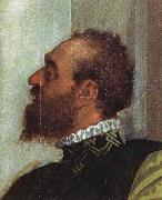 Detail from The Feast in the House of Levi Paolo Veronese