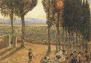 Festa at Fiesole William Holman Hunt