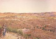 The Plain of Rephaim from Mount Zion (mk46) William Holman Hunt