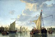 The Maas at Dordrecht Aelbert Cuyp