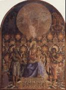 Embrace the Son of the Virgin with Angels Andrea del Castagno