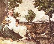 A Virgin with a Unicorn Domenichino