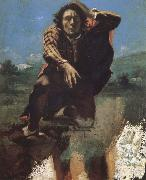 Desparing person Gustave Courbet