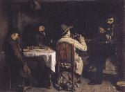 After Dinner at Ornans Gustave Courbet