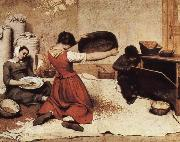 Griddle paddy Gustave Courbet