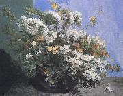 Flower Gustave Courbet
