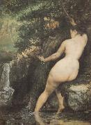 Bather Gustave Courbet