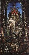Jupiter and Semele Gustave Moreau